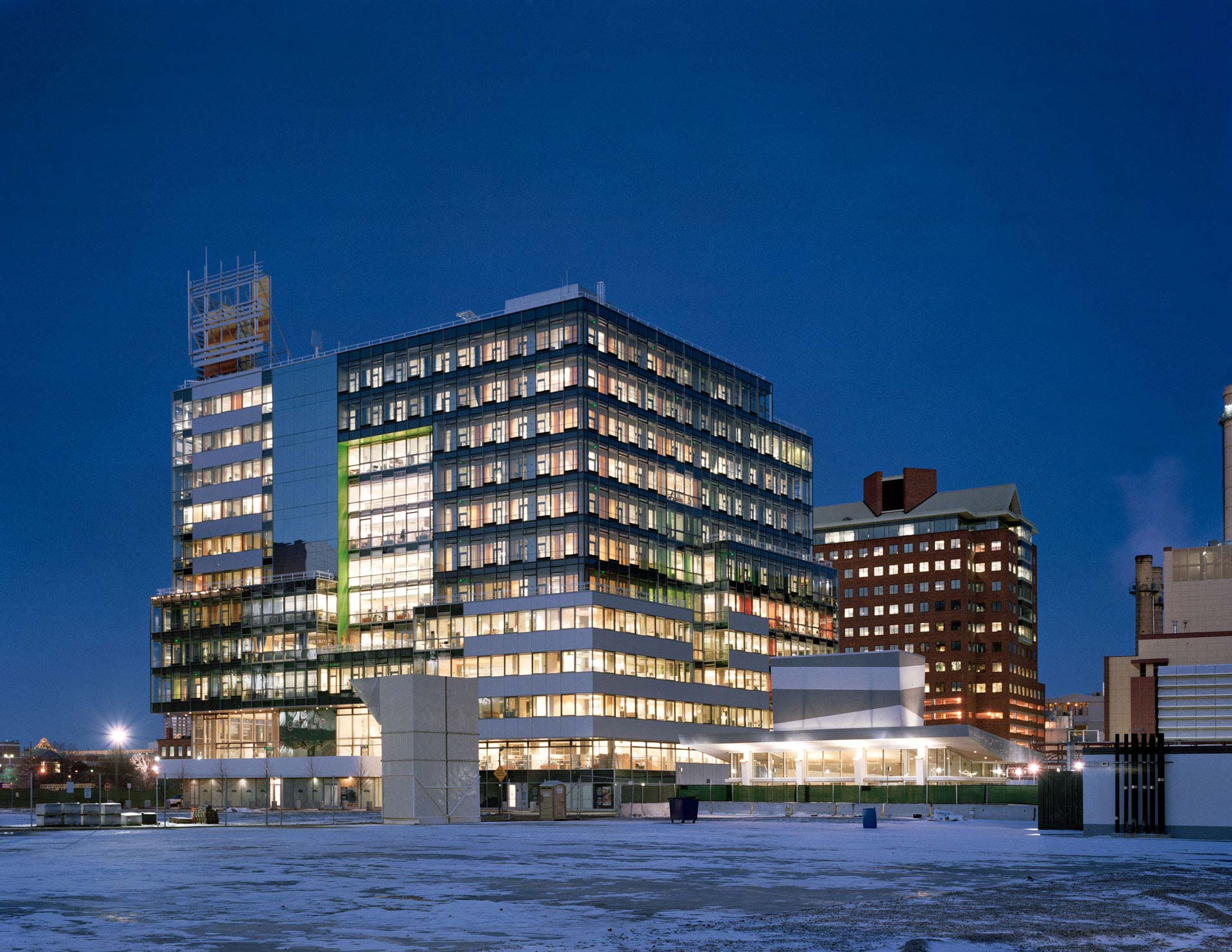Behnisch Architekten Genzyme Center