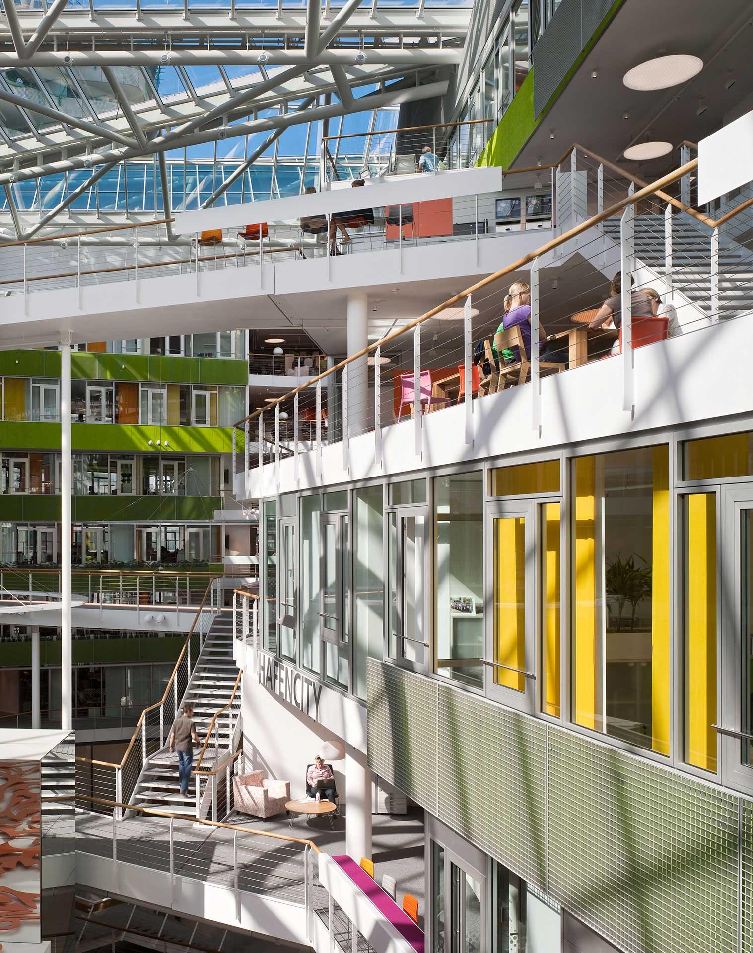 Behnisch Architekten Unilever Headquarters Germany