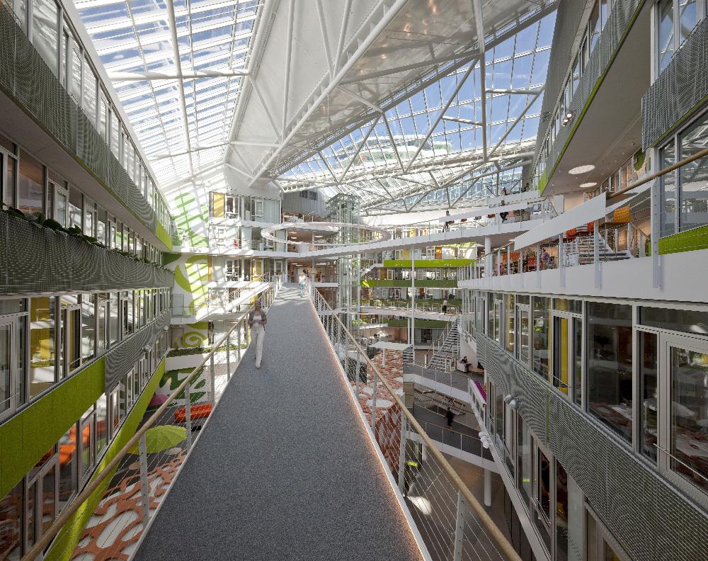 Behnisch Architekten / Unilever Headquarters Germany