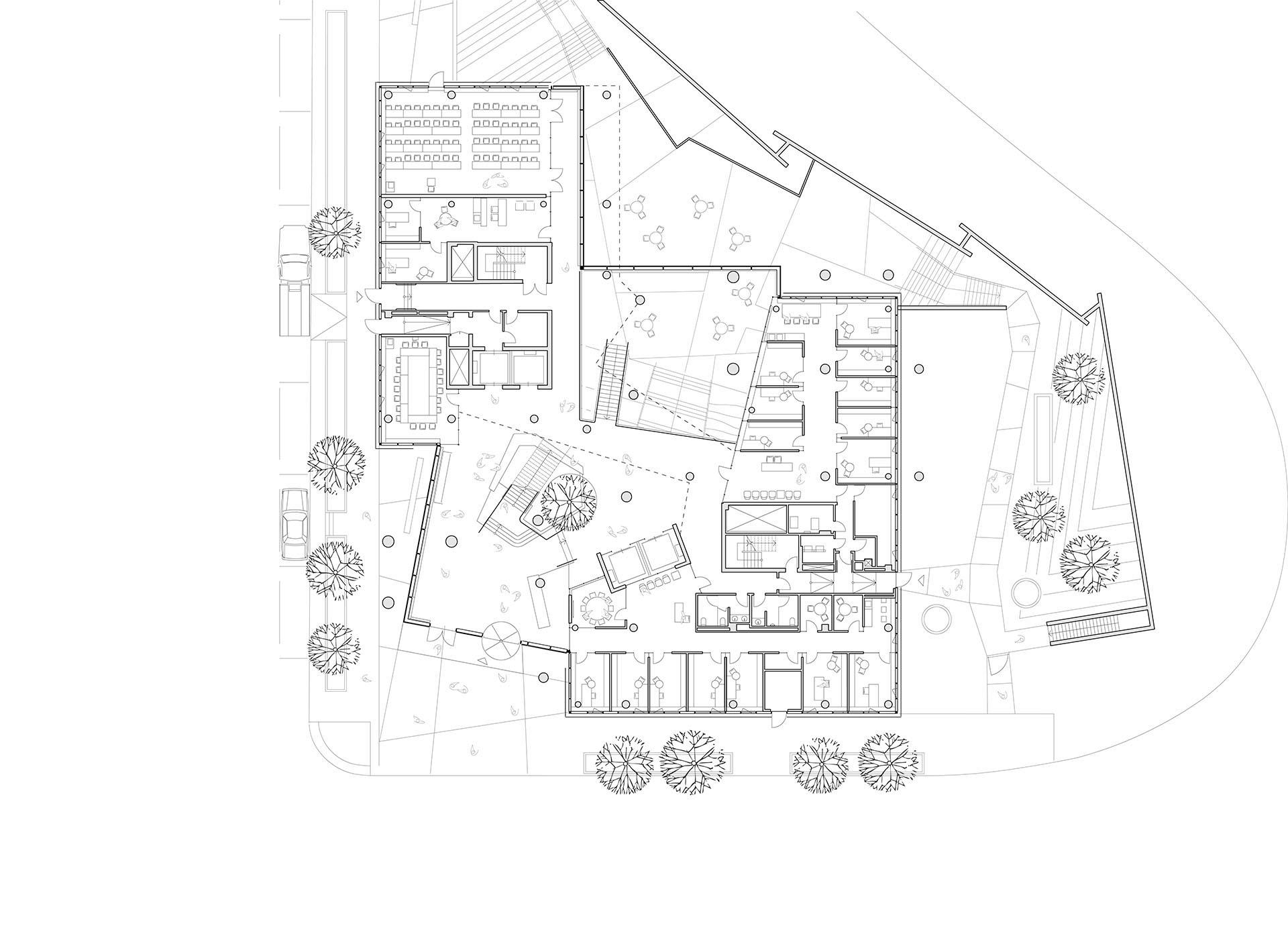 Behnisch Architekten The John And Frances Angelos Law Center