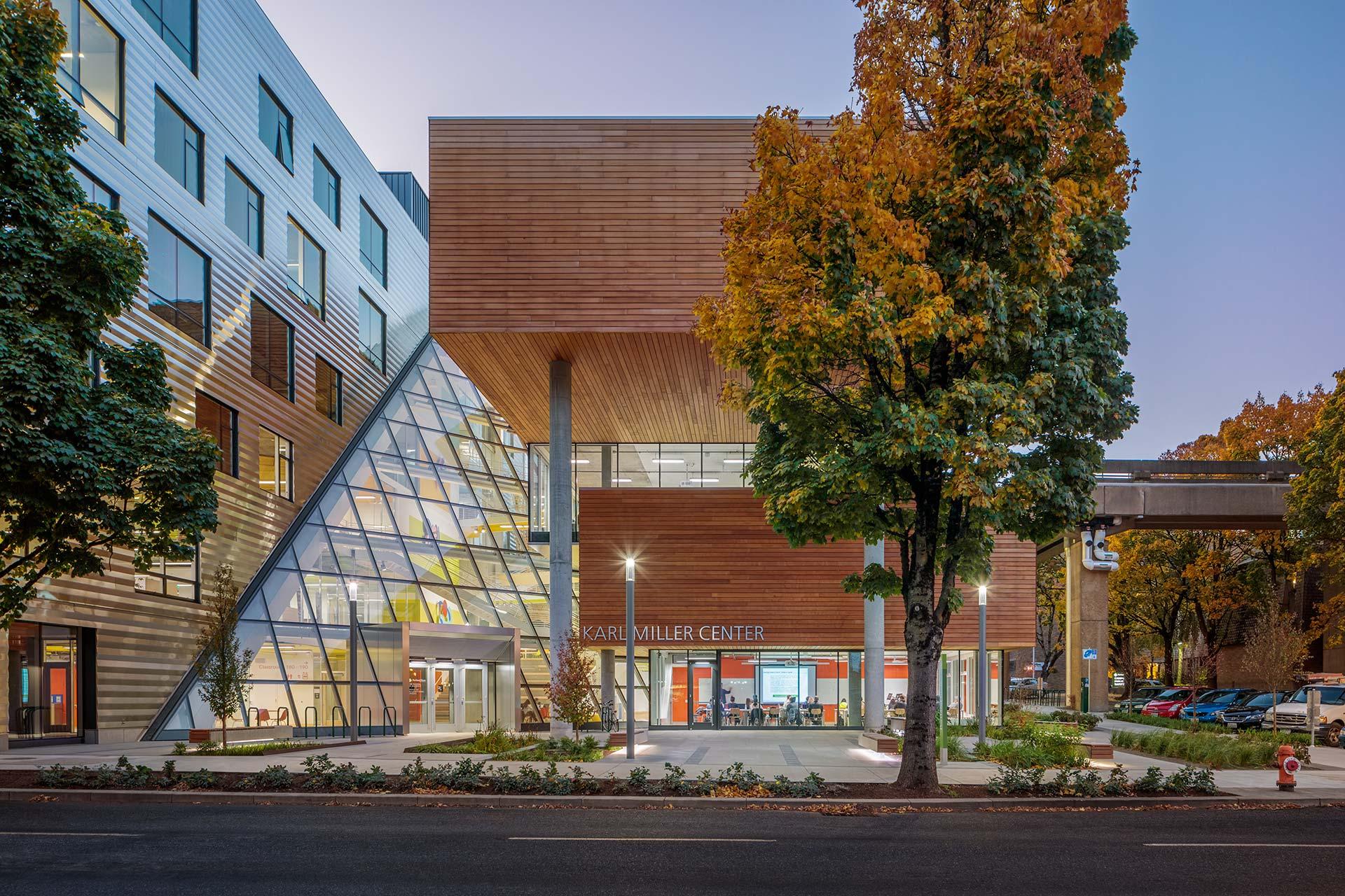 Behnisch Architekten Karl Miller Center Portland State