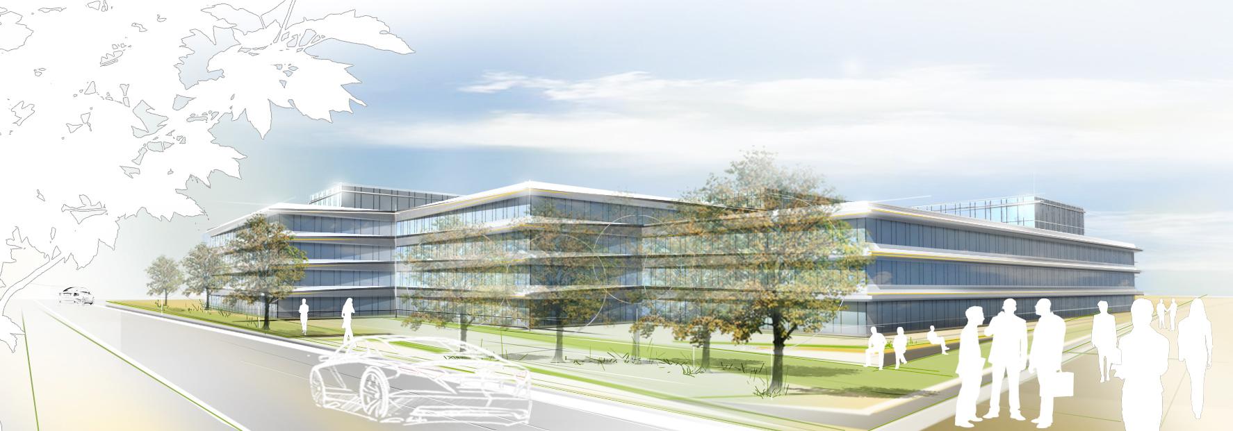 Architekten Ingolstadt behnisch architekten office building h6 h7 audi ingolstadt