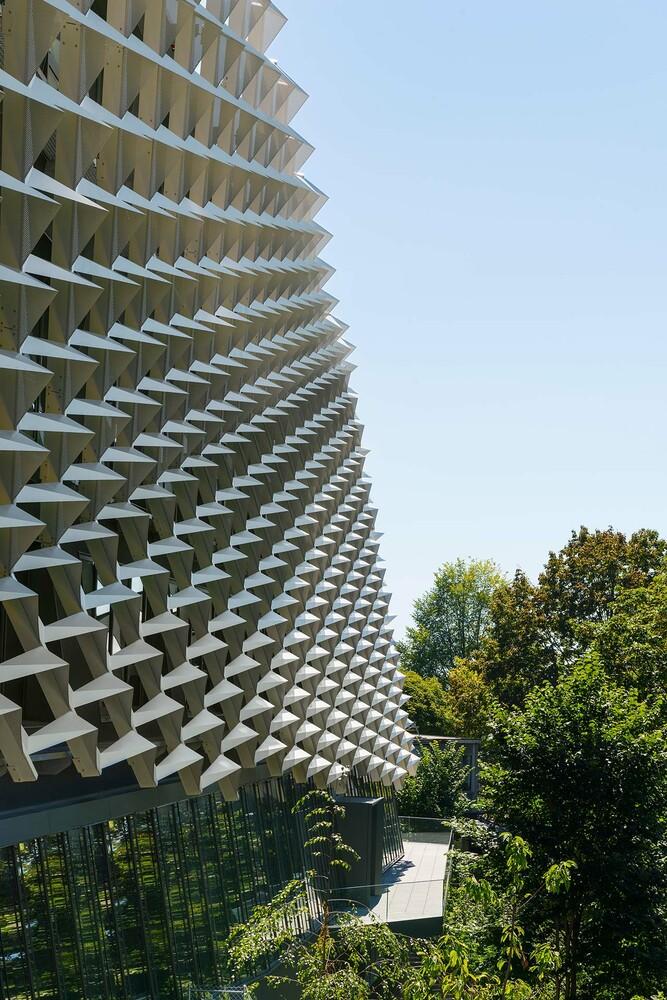 Behnisch Architekten Agora P 244 Le De Recherche Sur Le Cancer