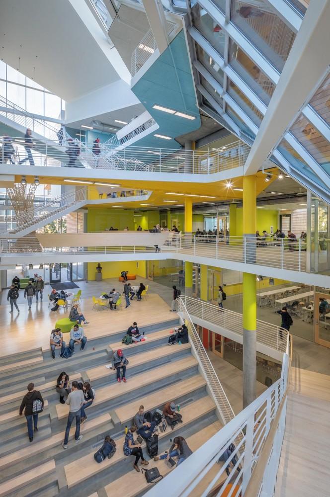 Behnisch Architekten Karl Miller Center Portland State University